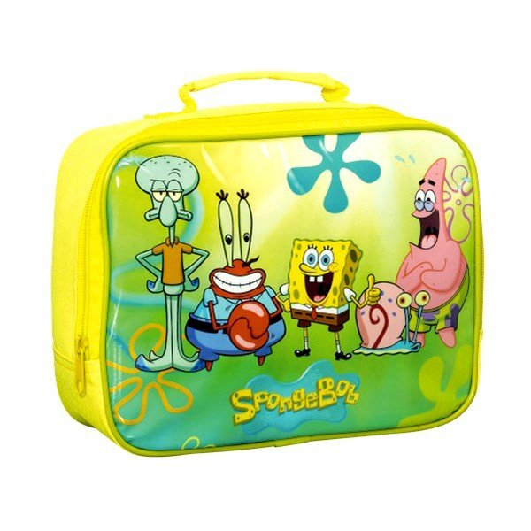 Spongebob Lunch Bag - Yellow