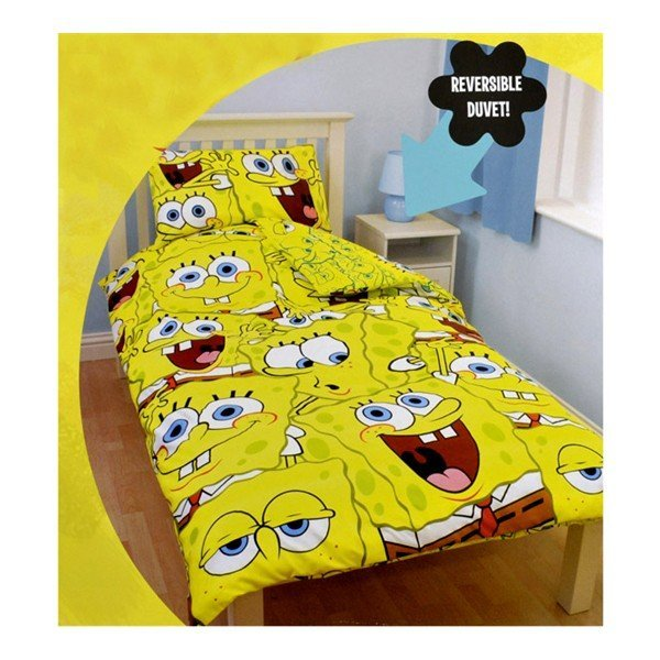 Spongebob Squarepants Single Duvet Set