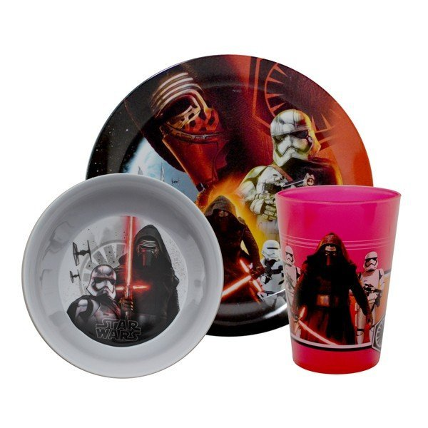 Star Wars 3PC Dinner Set
