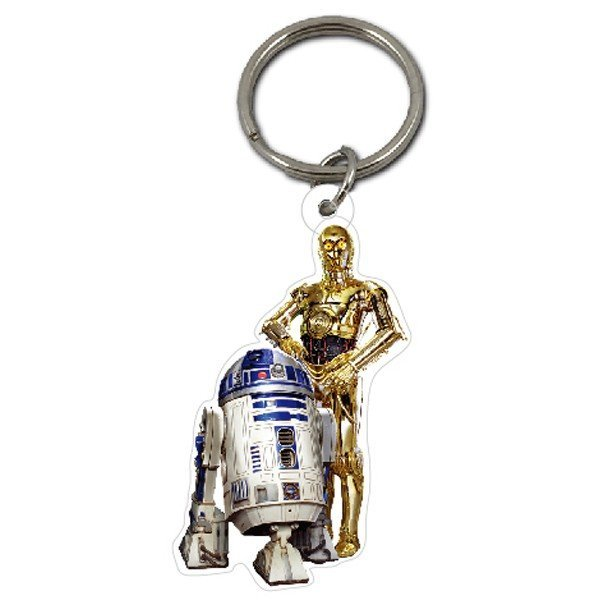 Star Wars C-3PO and R2-D2 Keyring