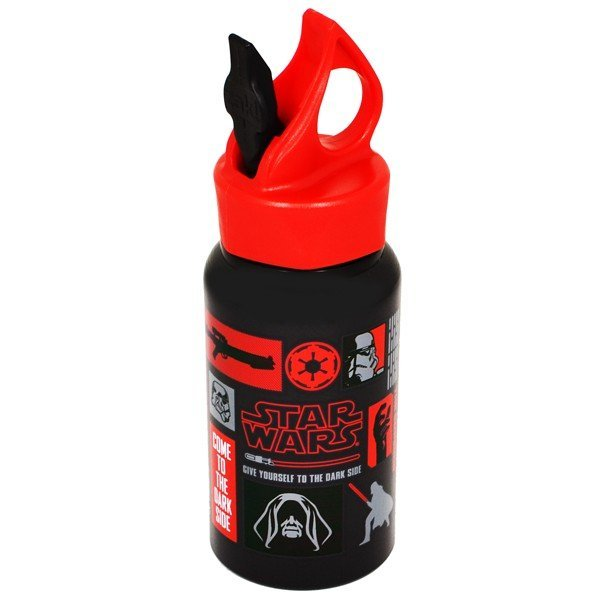 Star Wars Dark Side Wing Spout Lid Aluminium Water Bottle