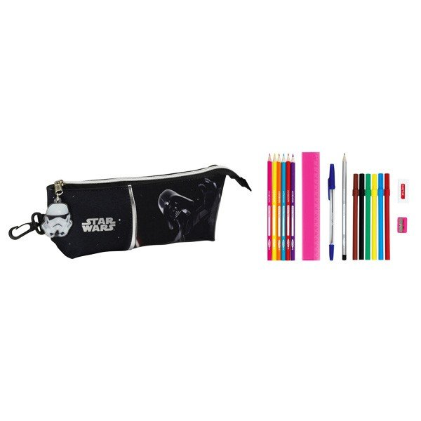 Star Wars Dark Vader Filled Pencil case - 17 PCS