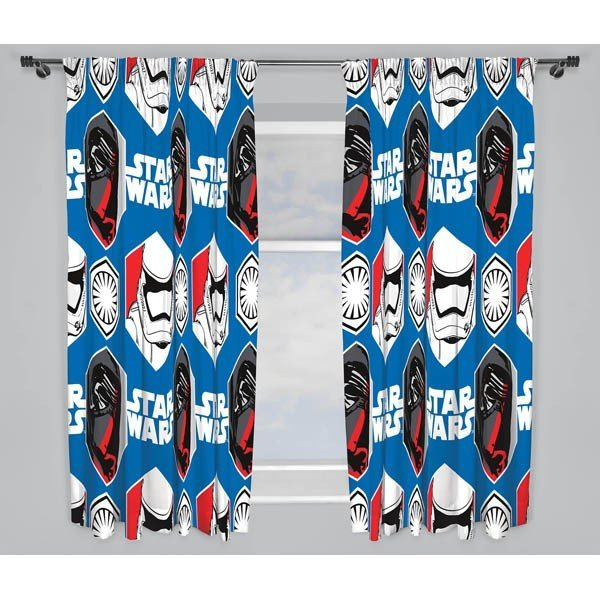 Star Wars Episode 7 Curtains - 72 Inch