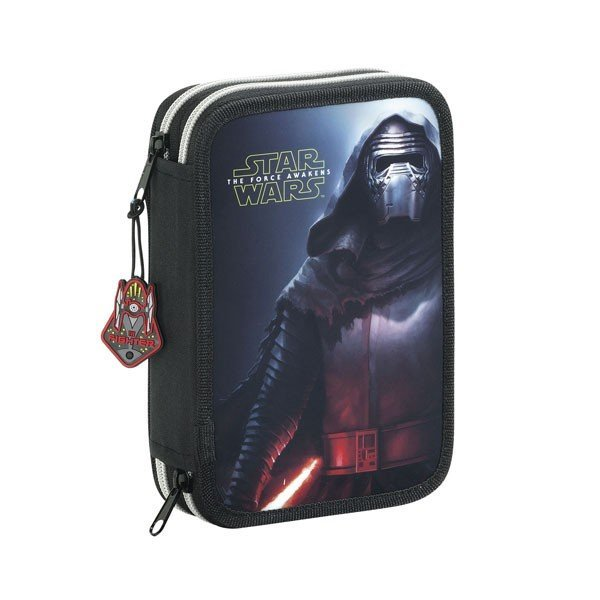 Star Wars Episode 7 Double Filled Pencil Case 34 Pcs