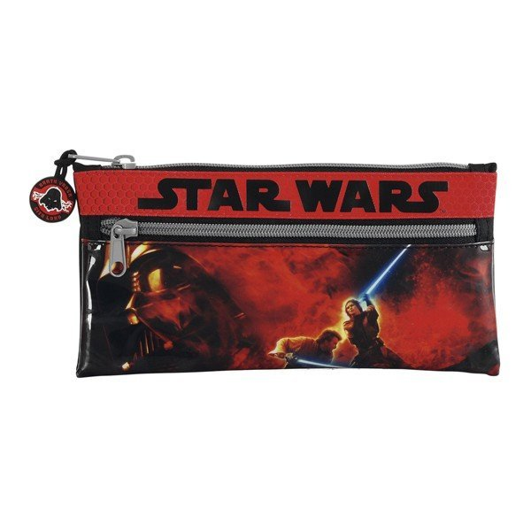 Star Wars Pencil Case With 2 Zippers