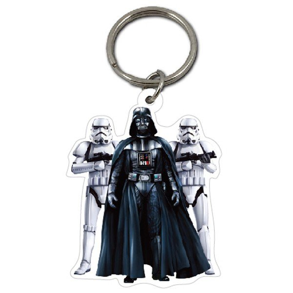 Star Wars Stormtrooper and Darth Vader Keyring