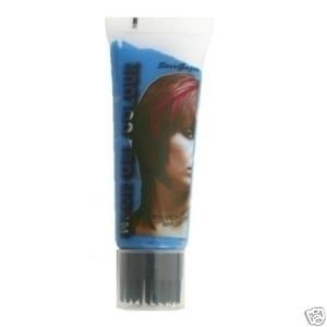Stargazer Cosmetics Blue UV Reactive Neon Hair Gel