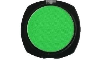 Stargazer Green Neon UV Reactive Pressed Powder Eyeshadow