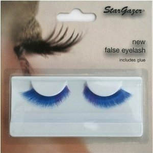 Stargazer Reusable False Eyelashes Blue and Purple 50