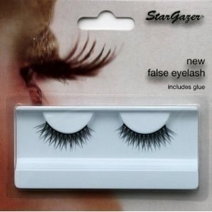 Stargazer Reusable False Eyelashes Criss Cross Black 73