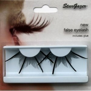 Stargazer Reusable False Eyelashes Extra Long Black with Gold 74