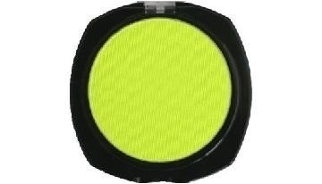 Stargazer Yellow Neon UV Reactive Pressed Powder Eyeshadow