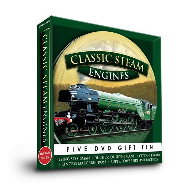 Steam Engines Five DVD Gift Tin