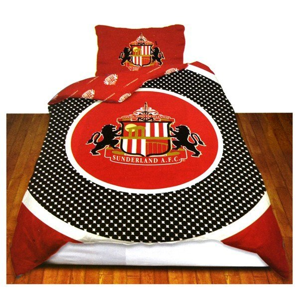 Sunderland Reversible Bullseye Single Duvet Set