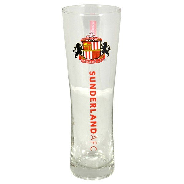 Sunderland Wordmark Crest Peroni Pint Glass