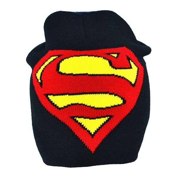 Superman Crest Roll Down Hat - Junior