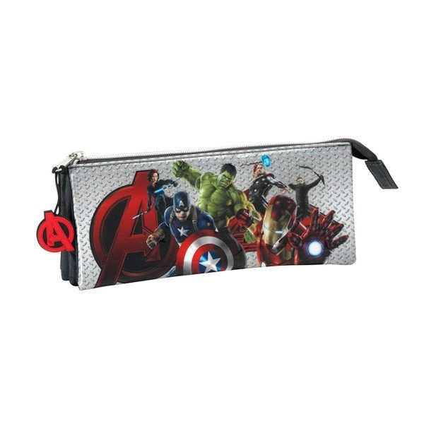 The Avengers Age Of Ultron Triple Pencil Case