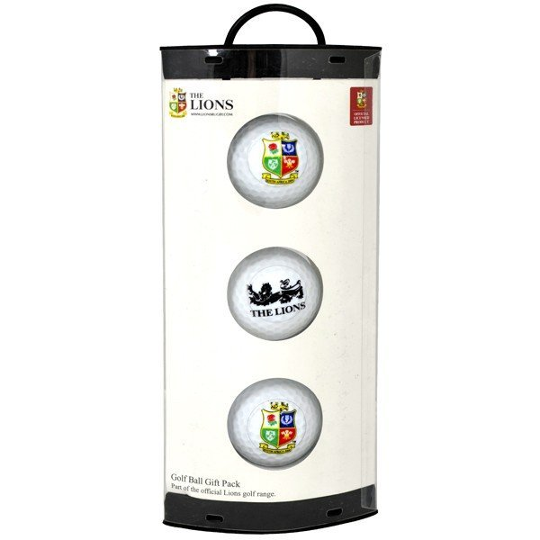 The Lions Golf Ball Gift Pack