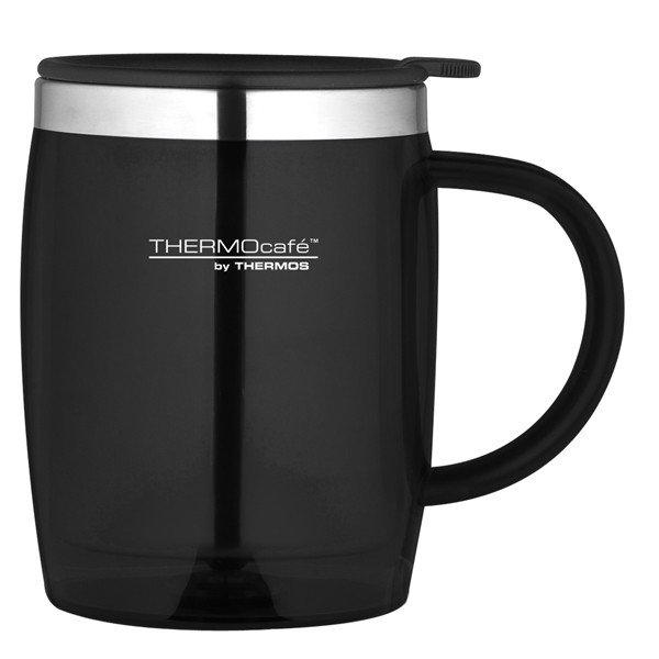 Thermos Thermocafe Black Desk Mug - 450 ML