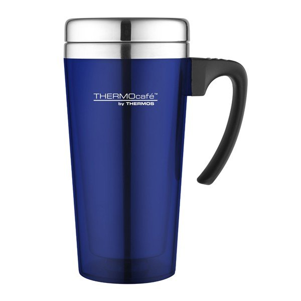 Thermos Thermocafe Zest Blue Travel Mug - 400 ML