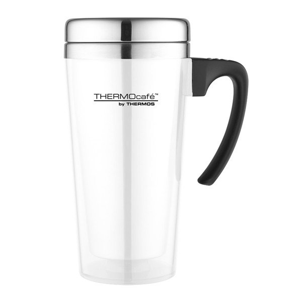 Thermos Thermocafe Zest White Travel Mug - 420 ML
