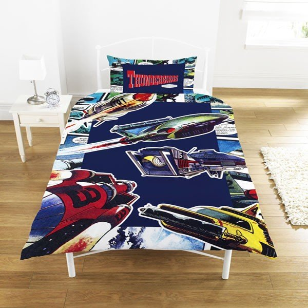 Thunderbirds Comic Single Duvet