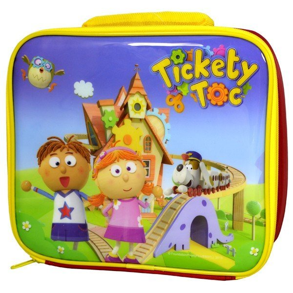 Tickety Toc Lunch Bag