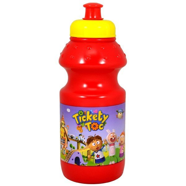 Tickety Toc Plastic Water Bottle