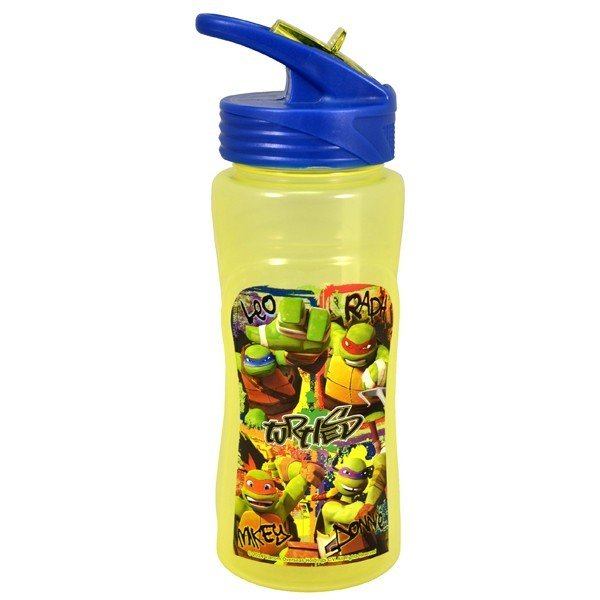TMNT Plastic Water Bottle