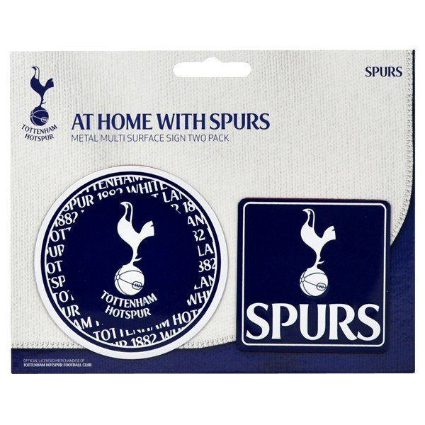 Tottenham 2PK Multi Surface Metal Sign