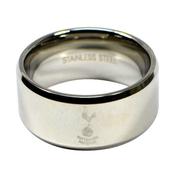 Tottenham Crest Band Ring - Medium