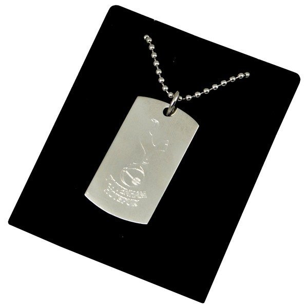 Tottenham Crest Dog Tag & Chain