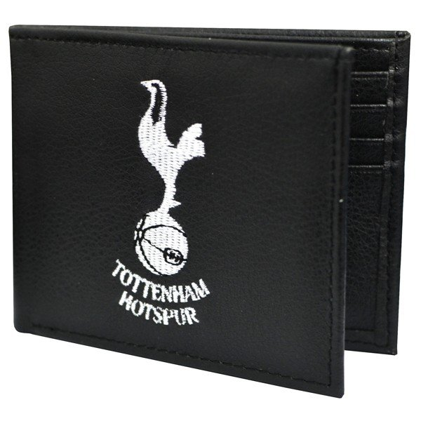 Tottenham Crest Embroidered PU Leather Wallet