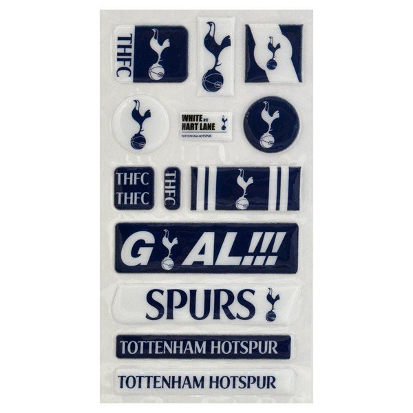 Tottenham Fun Bubble Sticker Set