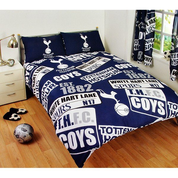 Tottenham Patch Double Duvet Set