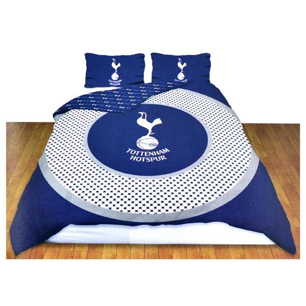Tottenham Reversible Bullseye Double Duvet Set