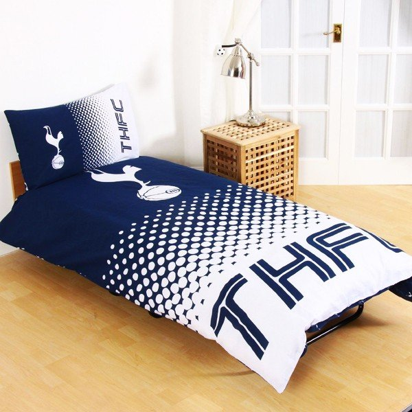 Tottenham Reversible Fade Single Duvet Set