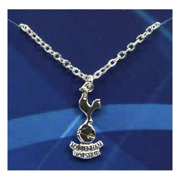 Tottenham Silver Plated Crest Pendant/Chain