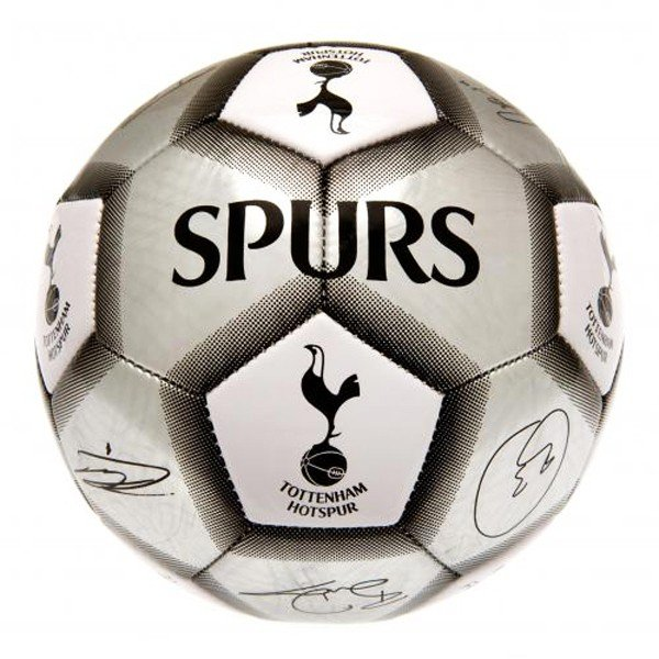 Tottenham Silver Signature Football - Size 5
