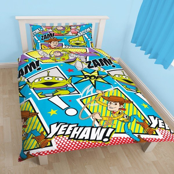 Toy Story Yeehaw Reversible Single Duvet