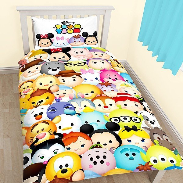 Tsum Tsum Huddle Reversible Single Duvet