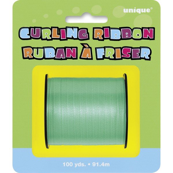 Unique Party 100 Yards Ribbon Roll - Emerald Green