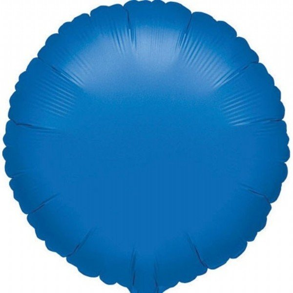Unique Party 18 Inch Round Foil Balloon - Royal Blue