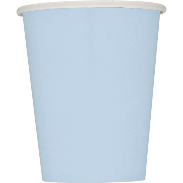 Unique Party 9oz Cups - Baby Blue