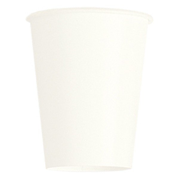 Unique Party 9oz Cups - Bright White