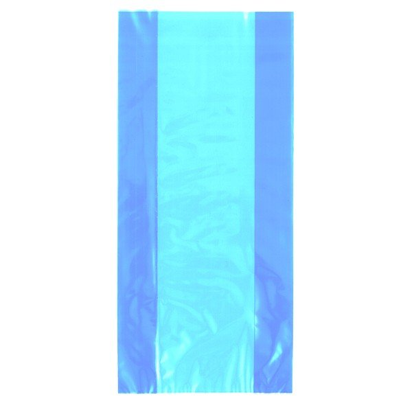 Unique Party Cello Bags - Baby Blue