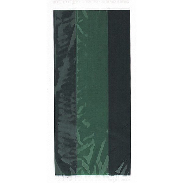 Unique Party Cello Bags - Forest Green
