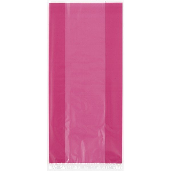 Unique Party Cello Bags - Hot Pink