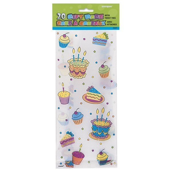 Unique Party Cello Bags - Party Treats