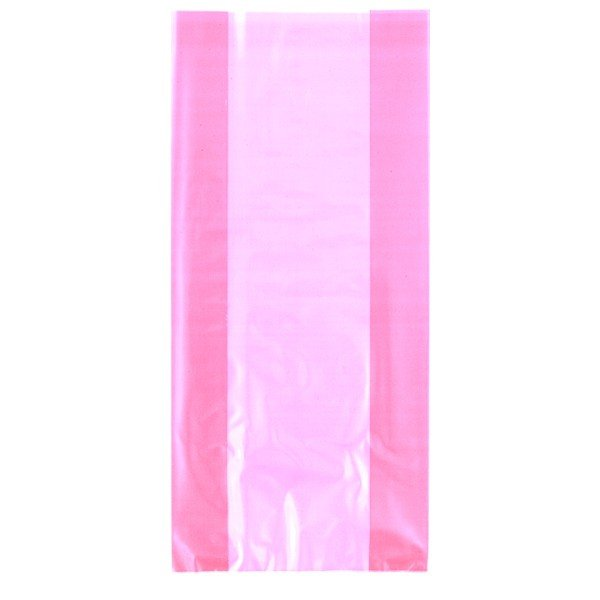 Unique Party Cello Bags - Pearl Pink